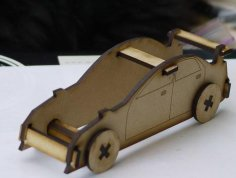 Laser Cut Sports Car 3mm SVG File