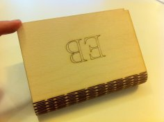 Laser Cut Flex Box Snap Fit 3mm Plywood SVG File