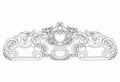 CNC Headboard Design CNC Router Free Vector