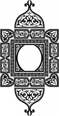 Persian Motif Free Vector