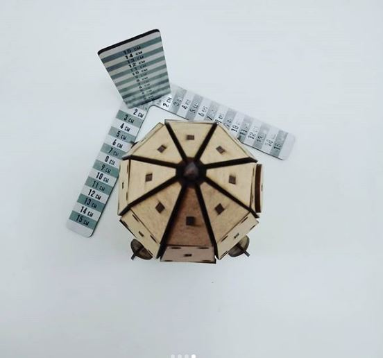 Laser Cut Wooden Rocket Spaceship Toy 3mm Free Vector