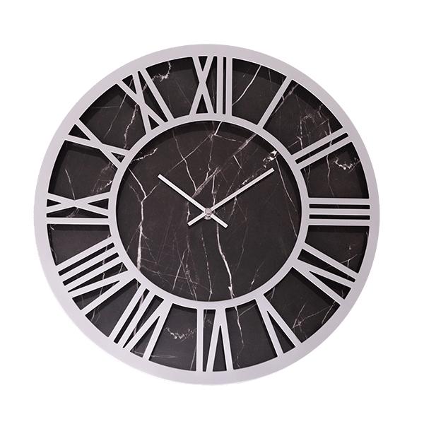 Laser Cut Ultra Modern Contemporary Wall Clock Free Vector