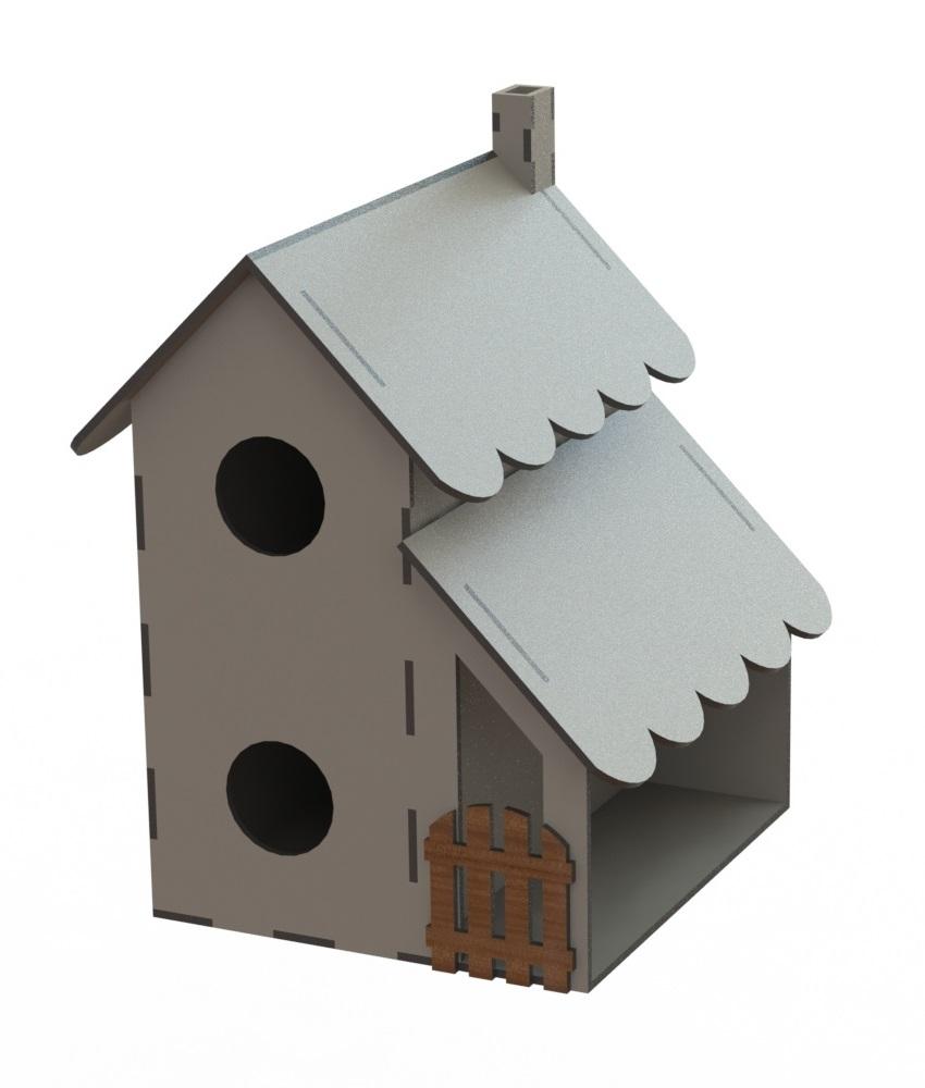 Laser Cut Bird Feeder Bird Nest House Shaped Bird House Free Vector