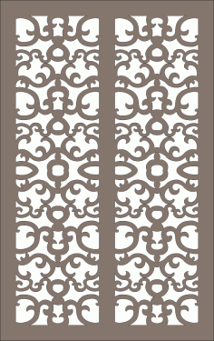 Abstract Repeatable Pattern Free Vector