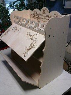 Laser Cut Bread Box Free Vector