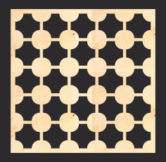 MDF Screen Pattern Free Vector