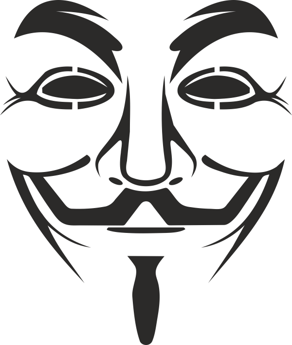 Vendetta Mask Logo Free Vector