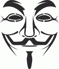 Vendetta Mask Logo