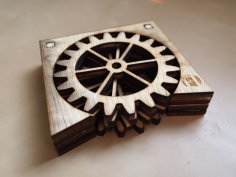 Gear Coasters DXF File