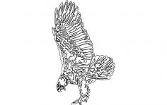 Eagle 7 dxf File