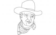 John Wayne 2 dxf File