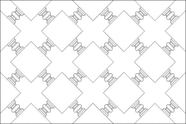 Geometric Islamic Pattern DWG File