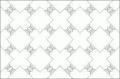 Geometric Islamic Pattern DWG File
