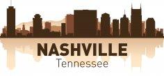 Nashville Skyline Free Vector