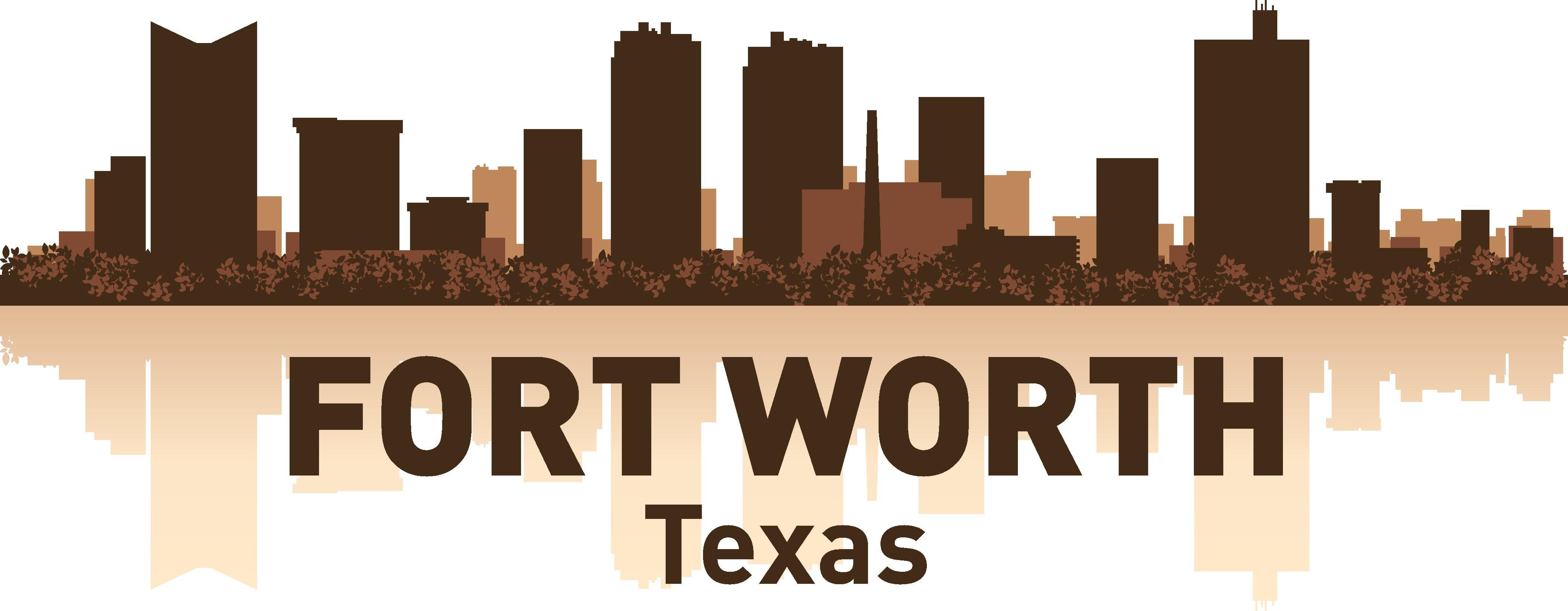 Fort Worth Skyline Free Vector