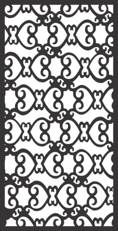 Window Grill Fancy Design Free Vector