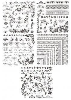 Decor Floral Elements