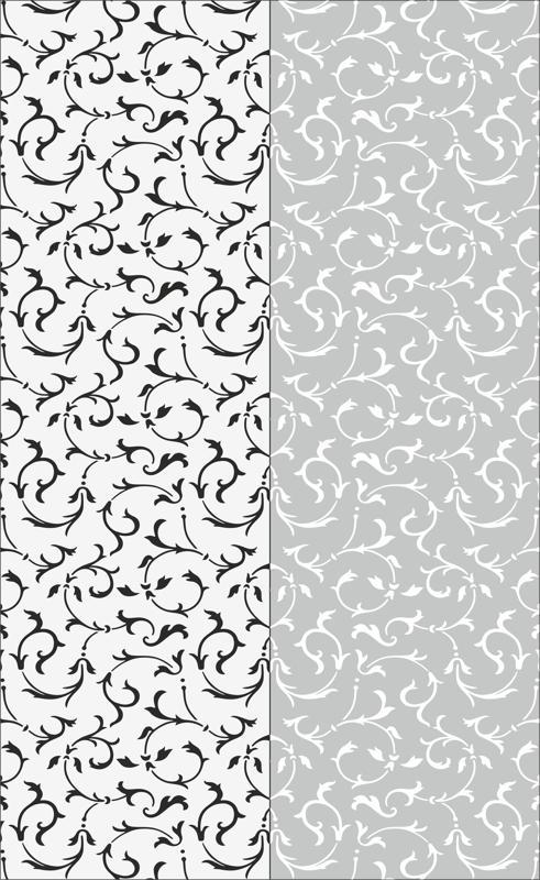 Floral Seamless Sandblast Pattern Free Vector