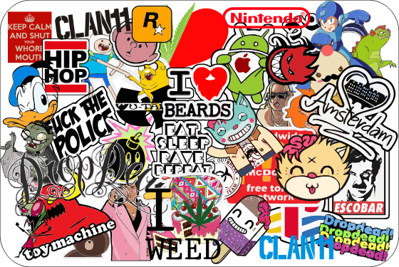 Random Sticker Bomb CDR File