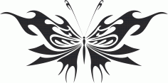 Butterfly Vector Art 014 Free Vector
