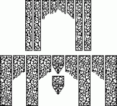 Wedding Screen Patterns Free Vector