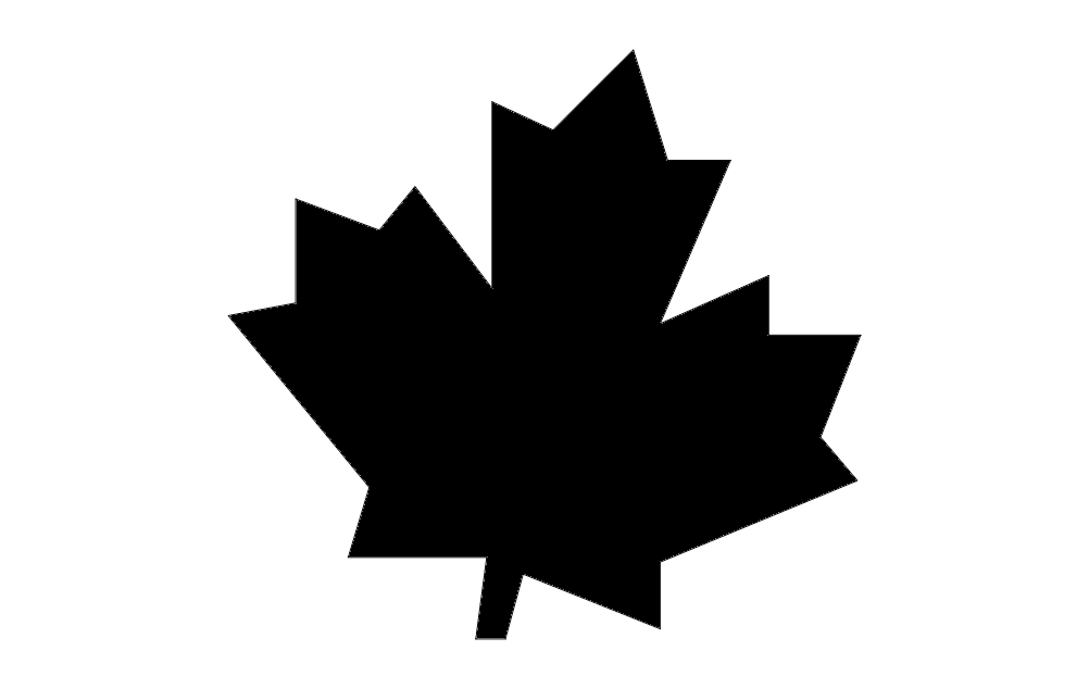 Canadian Maple Leaf Dxf File Free Download 3axis Co