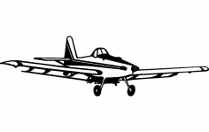 Airplane dxf File