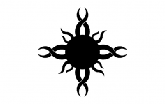 Sun Design dxf File