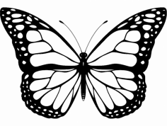 Butterfly design dxf File