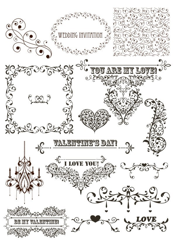 Vintage Decor Free Vector