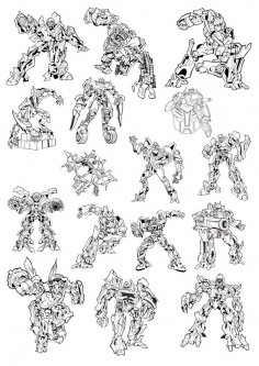 Transformers Free Vector