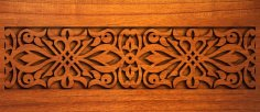 Wood Carving dxf File