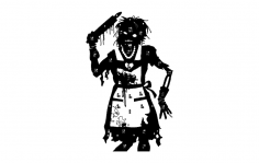 zombie-target-wife dxf File