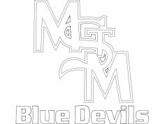 Bluedevils dxf File
