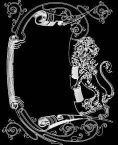 Mirror Frame 0468 dxf File