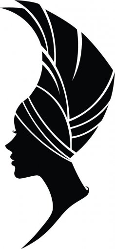 Woman Silhouette Vector Art jpg Image