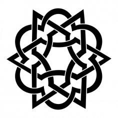 Floral Monogram Vector Art jpg Image