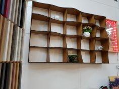 Wave Shelves Free Vector