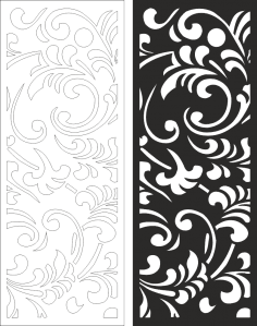 Wall Panels Screen Decorative CNC Laser Free Vector