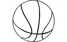 Basketball 2 dxf File