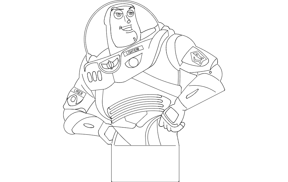 Buzz dxf File