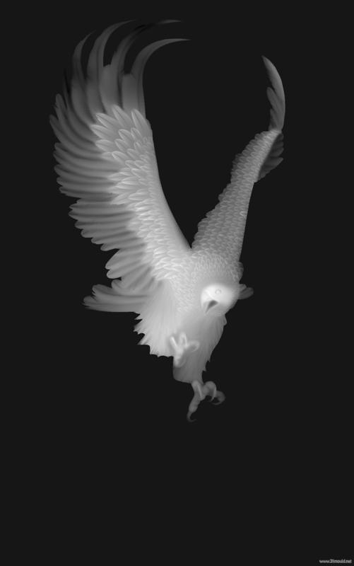 Eagle grayscale image for cnc d routing bitmap bmp
