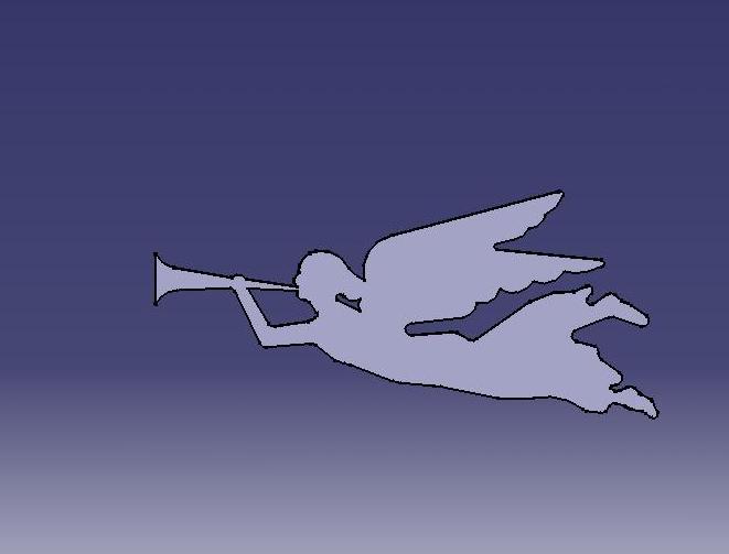 Angel Original dxf File