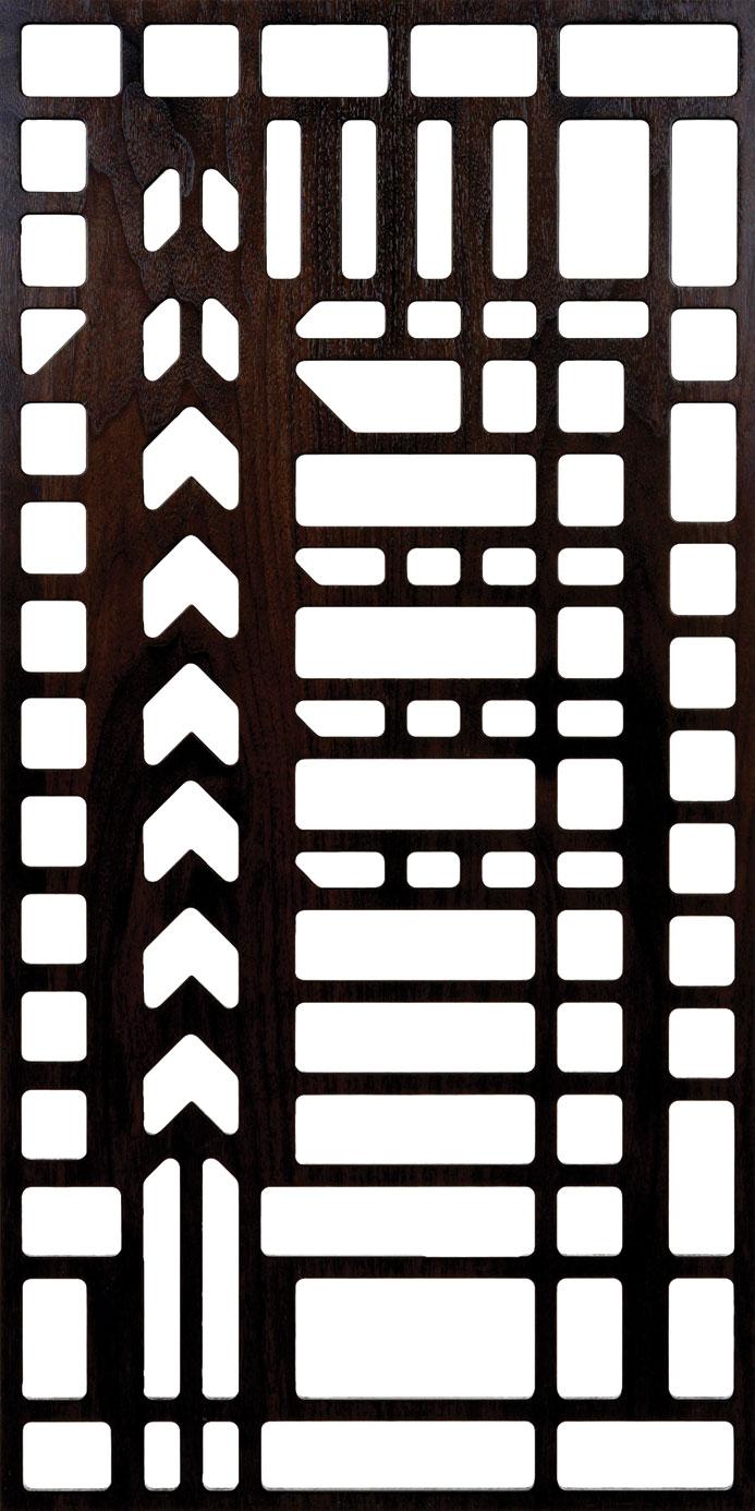 Unframed Grilles 300-v82 dxf File
