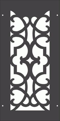 Renaissance Pattern DXF File
