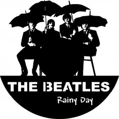 Epic Beatles Wall Clocks Free Vector