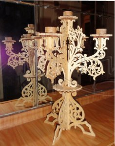 Candlestick Holders For 5 Candles