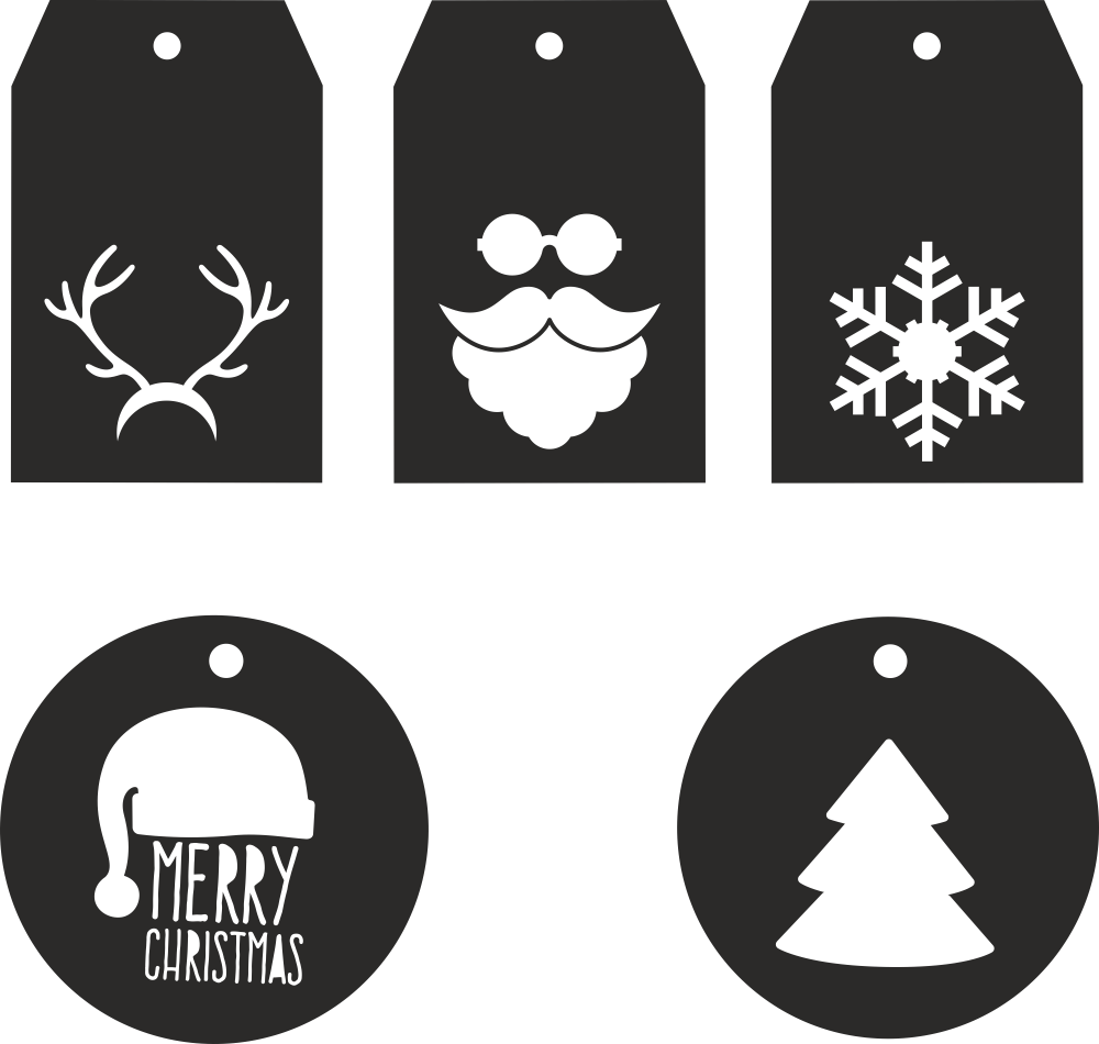 christmas-birki-01 Free Vector