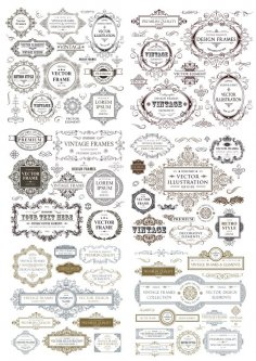 Vintage Collection Free Vector