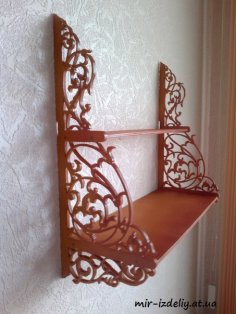 Shelf Decorative Scroll Saw PDF File